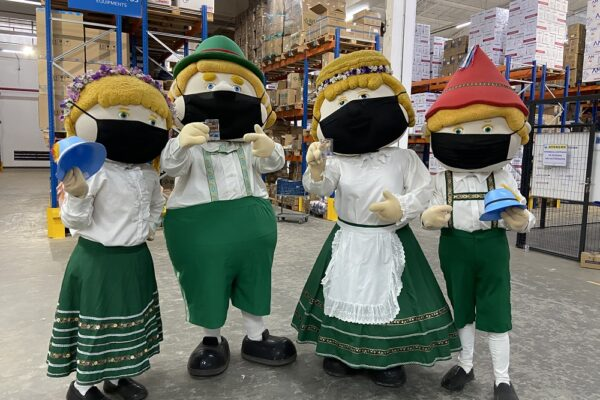 Família Fritz divulga a 1ª Oktoberfest Digital